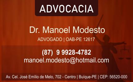 Dr. Manoel Modesto Advogado